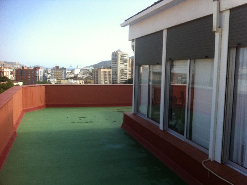 Terraza privada del ático Top floor